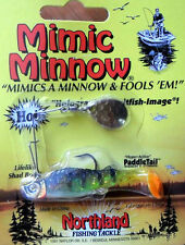Northland Mimic Minnow Spinnerbait - 1/8 Oz - Perch, Bass Redfin Perch Lure