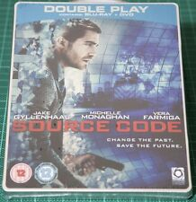 Source Code Play.com Exclusive Blu Ray Steelbook - NEW! SEALED!