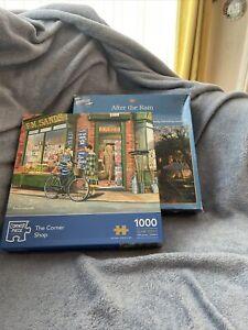 Jigsaw Puzzle Bundle - 2 X 1000 Pc