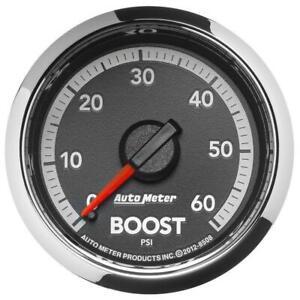 """AutoMeter 8508 GAUGE, BOOST, 2 1/16"""" , 60PSI, MECHANICAL, RAM GEN 4 FACTORY MAT"""