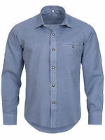Men's Traditional Garb Check Shirt Checkered Classic Oktoberfest
