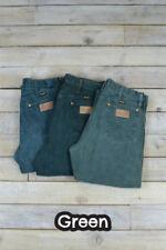 Jeans da uomo taglio classico, dritto verde Wrangler