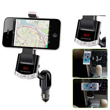 CAR Holder KIT charger FM Transmitter HandsFree For Iphone 6 5s Samsung HTC LG