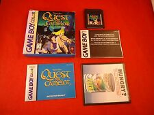 Quest for Camelot (Nintendo Game Boy Color, 1998) COMPLETE w/ Box manual game