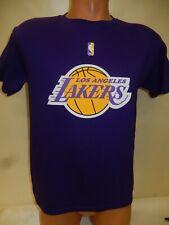 0730 Boys Youth Nba Apparel Los Angeles Lakers Basketball Jersey Shirt Purple