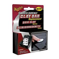 Meguiars Smooth Surface Replacement Car Clay Bar Removes Surface Contaminants