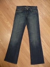 Womens 7 For All Mankind Bootcut Crystal Pockets Stretch Denim Jeans Size 29 8