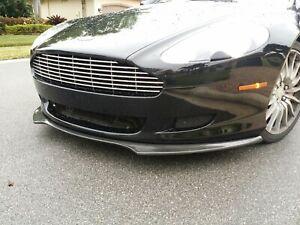 Aston Martin DB9/ Volante  2004-2011 Tuner Style Front Lip Spoiler NEW FRP Black