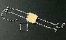 Make Picture Jewelry Christmas Gift New Bracelet Photo Silver Plated Chain Link