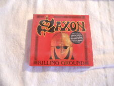 "Saxon ""Killing Ground"" Rare 2001  2cd digip. Limited Ed. Steamhammer New Sealed"