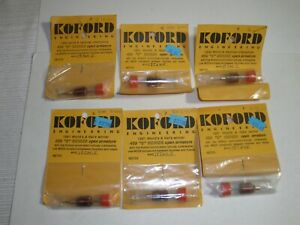 Koford 6 lot of Open Armature 459 S Series 1/24 Slot Car armatures NOS