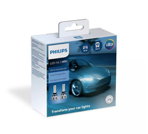 H11 Philips Up to 6500K Ultinon Essential LED FOG Bulbs 11362UE2X2 Pack of 2