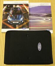 FORD FIESTA HANDBOOK OWNERS MANUAL  WALLET + SERVICE BOOK 2013-2017 PACK