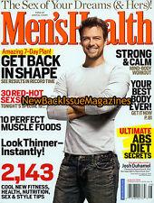 Men's Health 8/09,Josh Duhamel,Cole Hamels,Ryan Kwanten,NEW