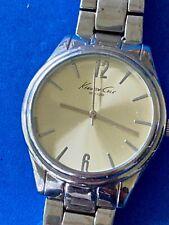 Kenneth Cole New York Mens formal silver tone dress Watch  3010016247