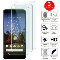 For Google Pixel 3a XL Premium HD Clear Tempered Glass Screen Protector [3-Pack]