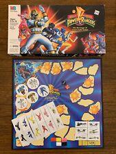 Milton Bradley Vintage Power Rangers Revenge of Lord Zedd Board Game 1994