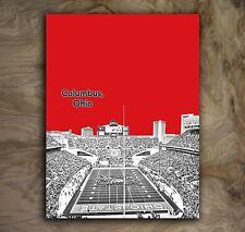 "Ohio State Buckeyes Sports Poster NCAA Football Art Print Rare Hot New 12x16"""