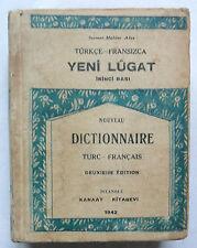 Türkçe fransizca yeni lûgat. Nouveau dictionnaire turc français. Sermet Muhtar