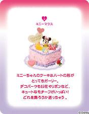 Re-ment Disney Birthday Party Miniature Birthday Cake Vol.2 - No.2 Minnie Mouse