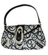 XOXO Hand Bag Purse BLACK  Handbag Mood Ring Flap
