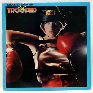 TROOPER Knock 'Em Dead Kid Vinyl LP Epic EPC 82296 UK 1977 Hard Rock VG+
