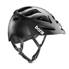 Bern Morrison Zipmold Bike Cycling Helmet, Matte Black Boa S-M | L-XL | XXL-XXXL