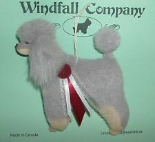 Phantom French Poodle Dog Plush Christmas Canine Ornament #2 by WC