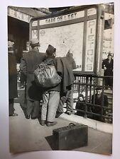 ww2 photo press Alger Paris 1939 mobilisation   B461
