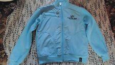 "GSTAR RAW - Baby Blue Fleece Zip Up / Jacket - Size L 45"""