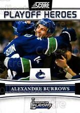 2011-12 Score Playoff Heroes #3 Alexandre Burrows