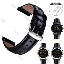 20 22 Genuine Leather Wrist Watch Strap For Samsung Galaxy Watch 42mm 46mm Band