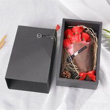 Scented Soap Roses Bouquet Artificial Flower Real Touch Gift Box Decoration