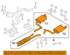 FORD OEM 15-17 Mustang 5.0L-V8-Muffler FR3Z5230Q