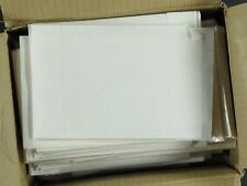 "Weeda Supplies: Box of 1000 6"" x 4"" stamp envelopes, clear side, Retail $80"