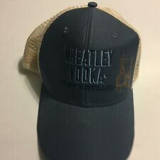 Wheatley Vodka Mens Blue Trucker Mesh Hat Ouray NWT Strap Back