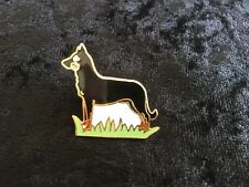 Doberman Pinscher Pin / Brooch Black