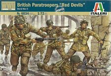 Italeri 1/72 (20mm) WWII British Paras Red Devils (Esci)