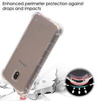 Samsung GALAXY J7 2018 Case Flexible TPU Rubber Silicone Gel Phone Cover Clear