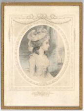Estampes, gravures et lithographies du XIXe siècle et avant signés portrait, autoportrait, pour réalisme