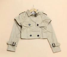 148 Korean Women's Fashion Double Breasted Short Coat Blazer Jacket Top