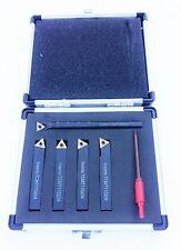 5PZ Indicizzabile TIN Carburo Strumenti tornio set 10mm (include Noioso Bar) mini tornio