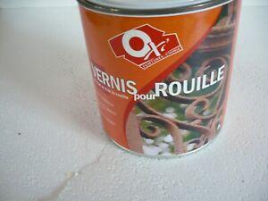 vernis pour rouille owatrol type rustol cip  0.5 litr rust killer stoppe rouille
