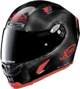 10% OFF XLITE X803 Carbon Puro Sport Glänzend Gratis Dark Visier 2020 Motorrad