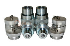 2pk 10000psi Hydraulic Quick Coupler Set For Enerpac C 604 Style