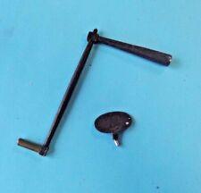 Antique poignée de pendule vintage XIX ème carré intérieur de 5,5 millimètres