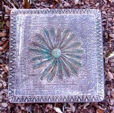 Flower stepping stone mold plaster concrete garden mould