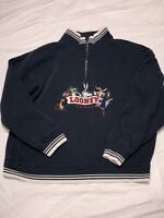 vintage 1996 looney tunes 1/4 zip sweater