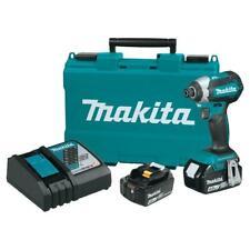 Makita XDT13M-R 18V LXT Brushless 1/4 Pol. impacto Driver Hex Kit, 4.0 Ah