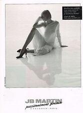 PUBLICITE ADVERTISING 025  1991  JB MARTIN   chaussures femme